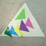 triangle on triangle collage
