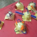 Christmas crafts for preschoolers: Last minute, easy ornaments out of egg cartons